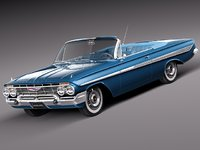 3d v8 antique convertible chevrolet chevy