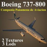 maya boeing 737-800 cmp