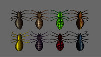 spiders pack animations x