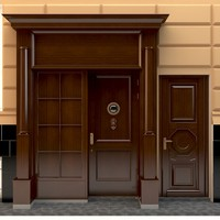 entrance government 3d max