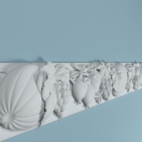 peterhof frieze f123 3d model