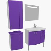 3dsmax bathroom furniture