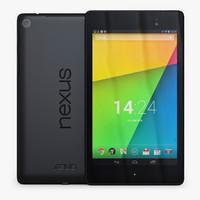 3d model nexus 7 2013