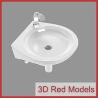 sink faucet 3d model
