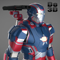 Iron Man 3 Suit - Patriot Armor