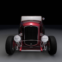 highboy roadster interior 3d model