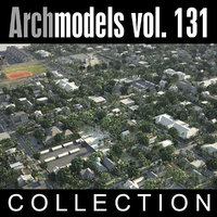 3d archmodels vol 131 city