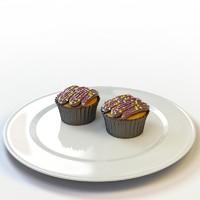 3d model of cupcake 23