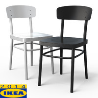 3d idolf dining chair model