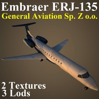 3d model embraer z gnz