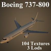 boeing 737-800 3d max