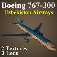 boeing 767-300 uzb max