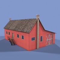 farm house 3d max