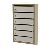 3d post box postal model