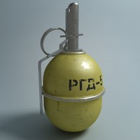 maya russian hand grenade rgd-5