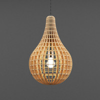 max wooden lamp light