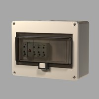 3ds max electrical panel