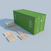 3d container 2011 model