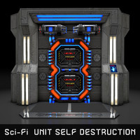 Sci-Fi UNIT SELF-DESTRUCTION