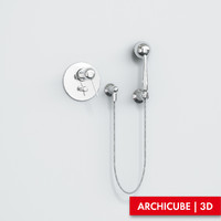 3d bath mixer model