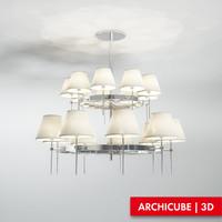 3d max ceiling lamp