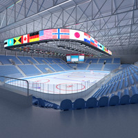 maya ice hockey arena