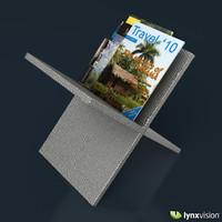 metal magazine rack philippe starck 3d max
