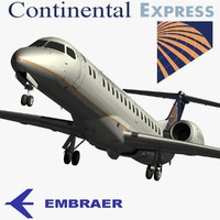 3ds max embraer erj-145xr