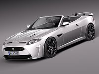 Jaguar XKR-S Convertible 2013
