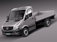 Mercedes-Benz Sprinter Pickup Short 2014