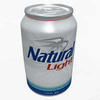 Natural Light Beer Can
