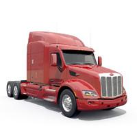 Peterbilt 579 tractor