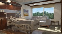 3d model 275 patient room sf
