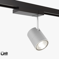 Spotlight Zumtobel Vivo L with track mounting