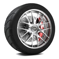 volk racing g27 wheel 3d max