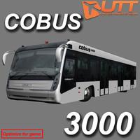 3d model cobus 3000 bus