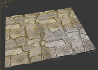 Tileable Stone Pavement