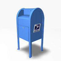 mail box 3d 3ds