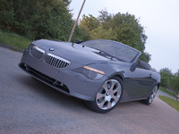 bmw 6 series convertible 3d 3ds