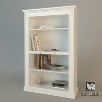 salda bookcase 3d model