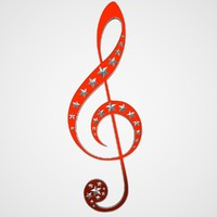 3dsmax treble clef