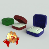 obj velvet jewelry boxes