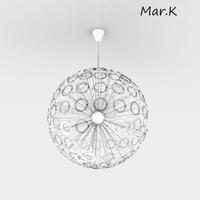 3d model hanging lamp