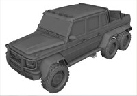 mercedes-benz g63 6x6 amg 3d 3ds