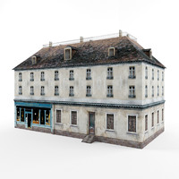 3d house french model