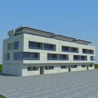buildings 2 6 3d obj