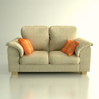 free ikea tidafors sofa 3d model