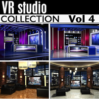 news studios collections 3d max