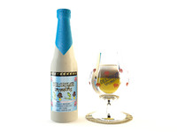 3d model delirium tremens beer