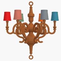 3ds moooi - paper chandelier